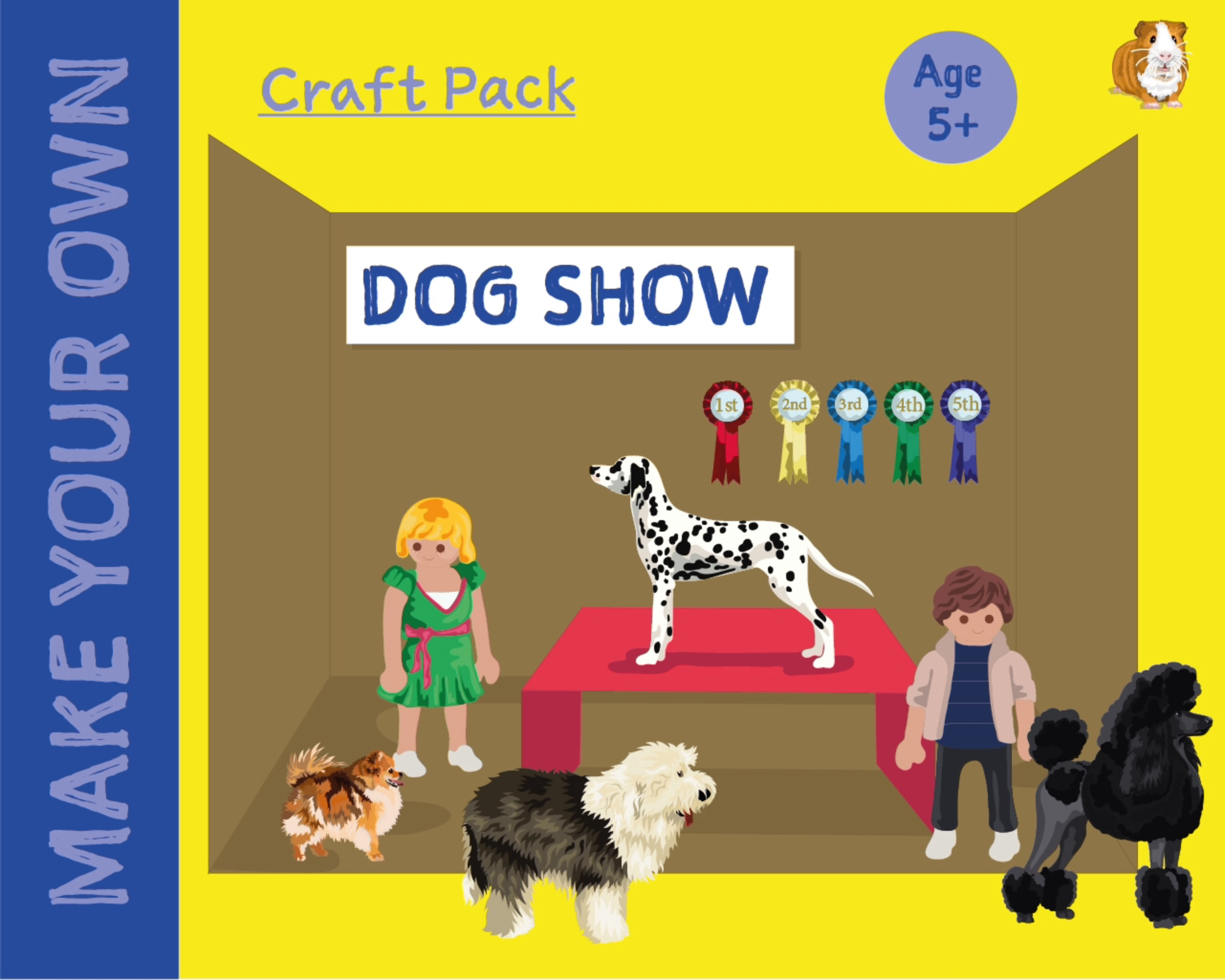 Craft Pack: Make A Dog Show (4 years +)