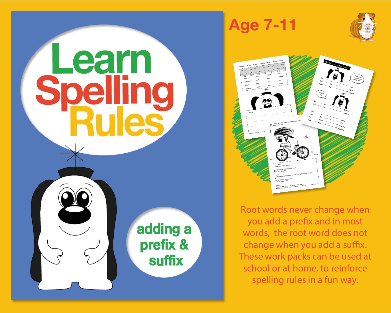 Learn Spelling Rules: Adding A Prefix And A Suffix