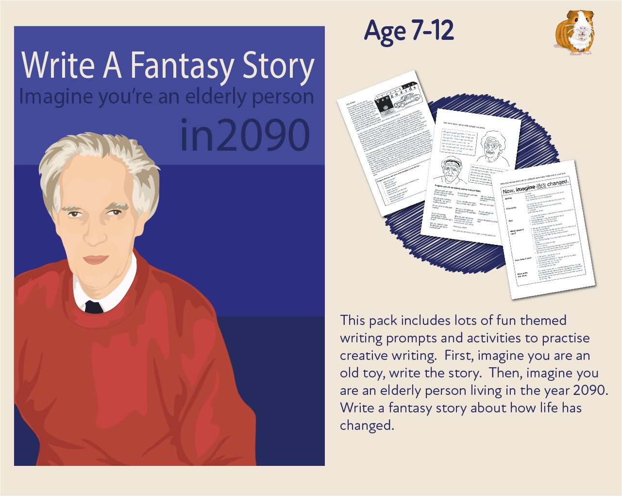 Imagine You Are An Old Toy And Write Your Story (7-13 years)