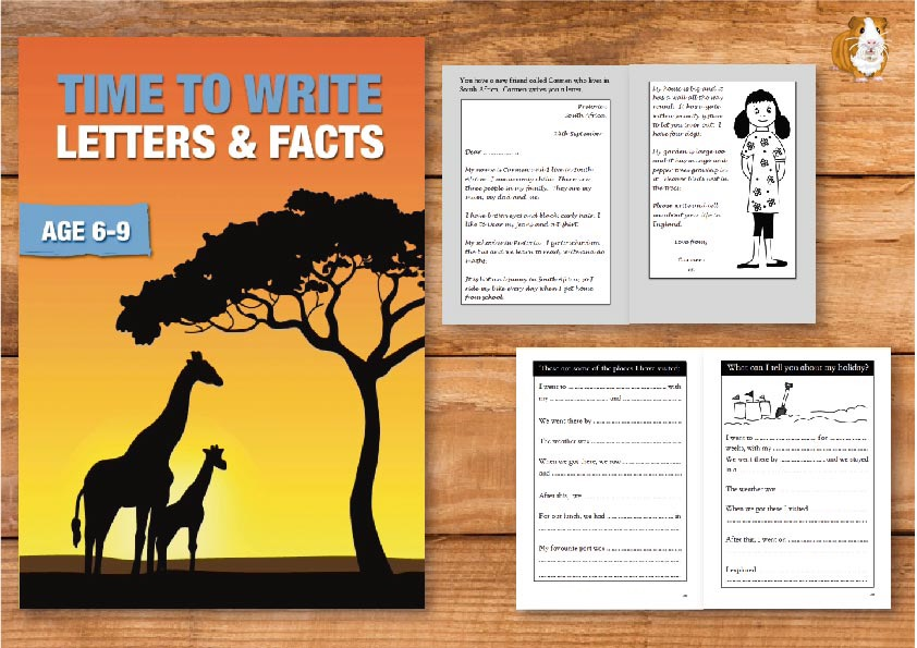 Time To Write Letters And Facts (Time To Read & Write series) (6-9) Print Version