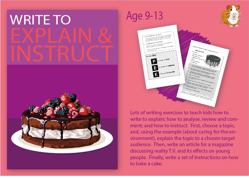Practise Writing To Explain And Practise Writing To Instruct (9-14 years)