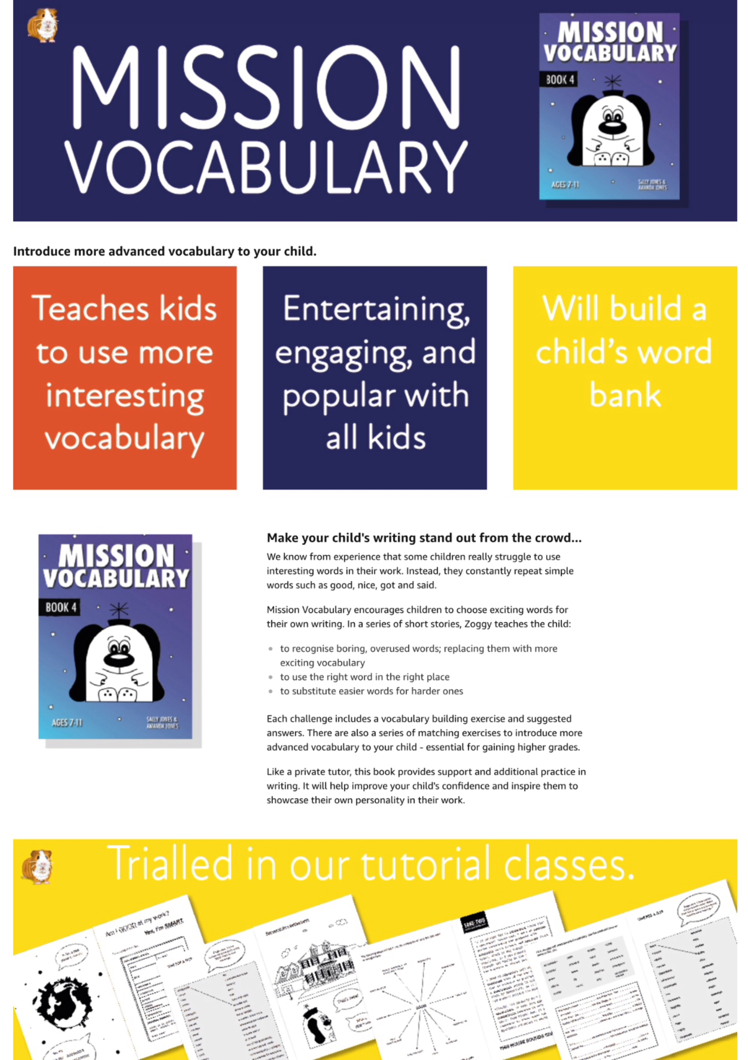 Mission Vocabulary (US English Edition) Grades 2-5