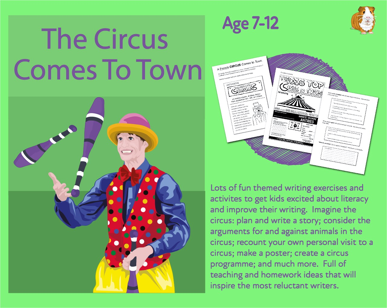 Lots Of Writing Tasks: The Circus Comes To Town (7-13 years)