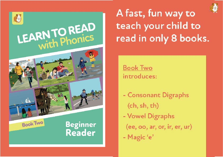 4. Learn To Read With Phonics | Beginner Reader Book 2 | Digital Download