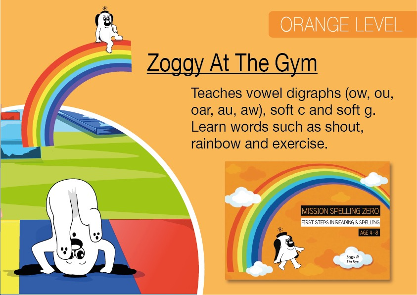 Zoggy At The Gym (E-book)