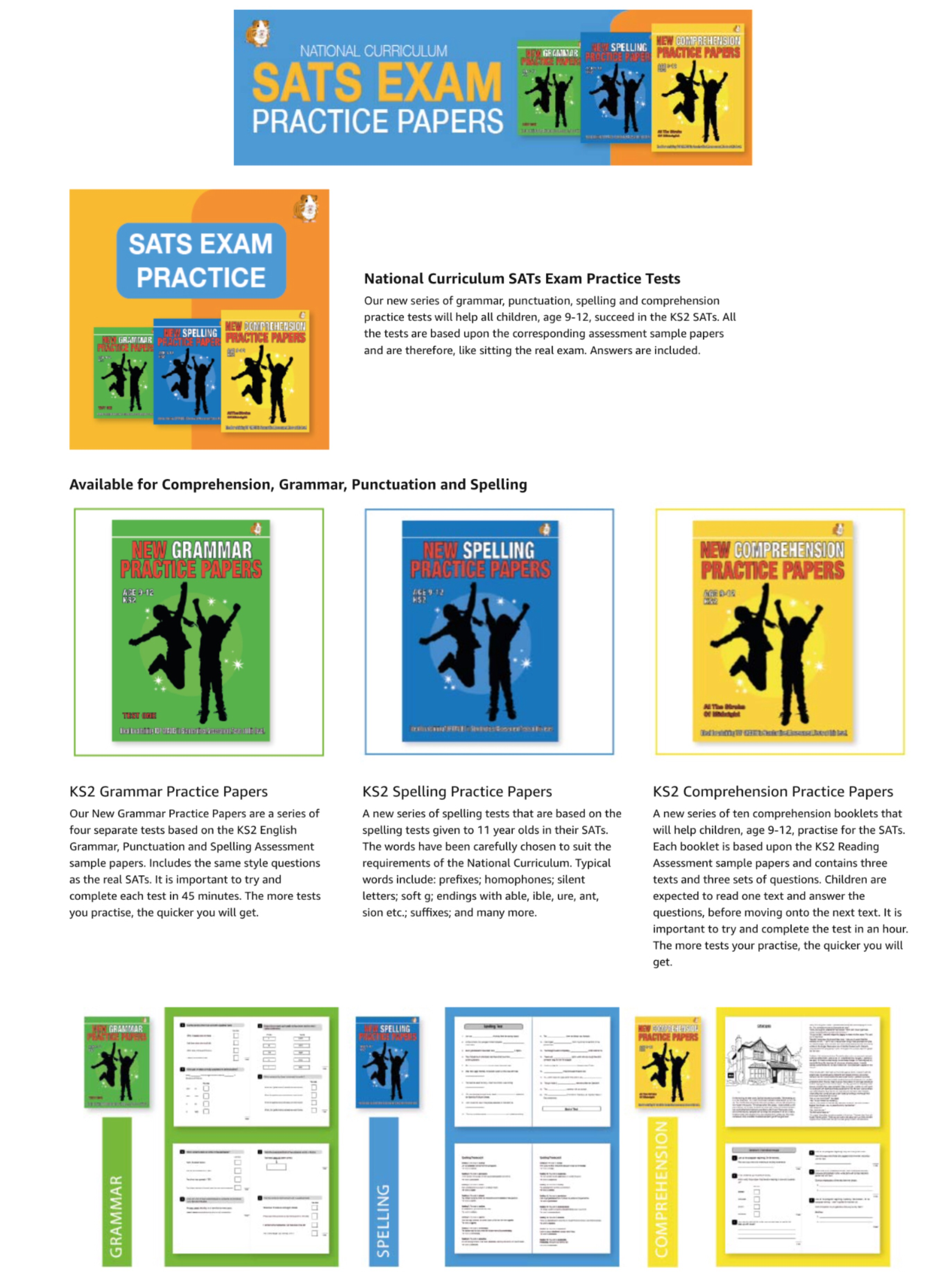 SATS Comprehension Practice Papers: Looking At Lives (Print Edition)