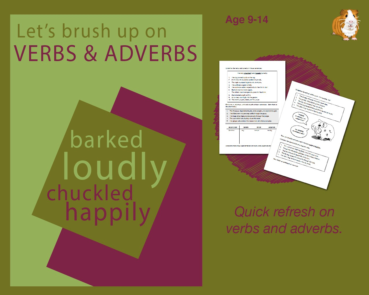 Using Verbs And Adverbs (9-14 years)
