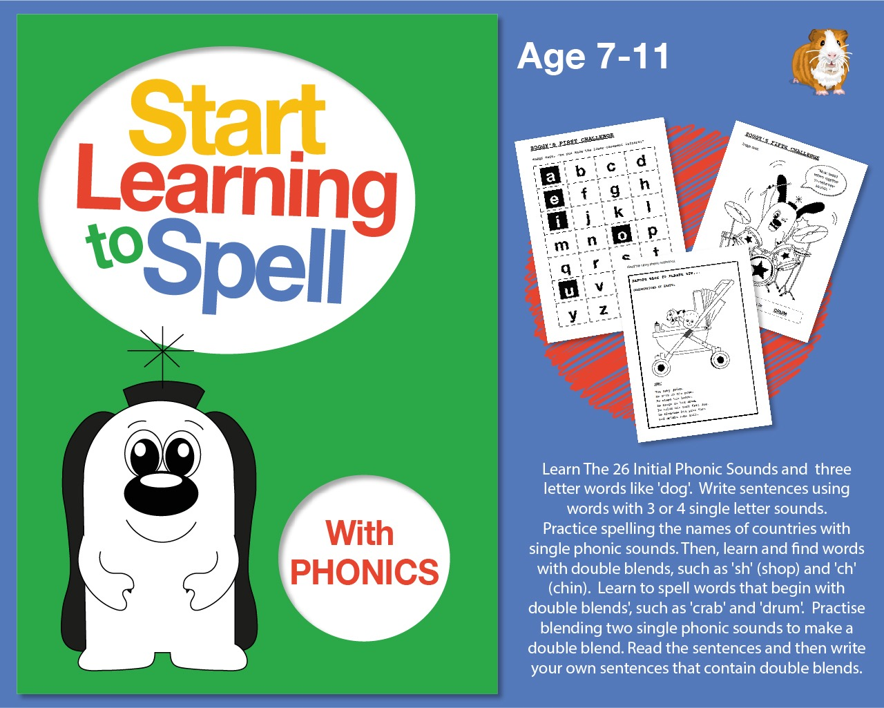 Start Learning To Spell With Phonics (7-11 years)