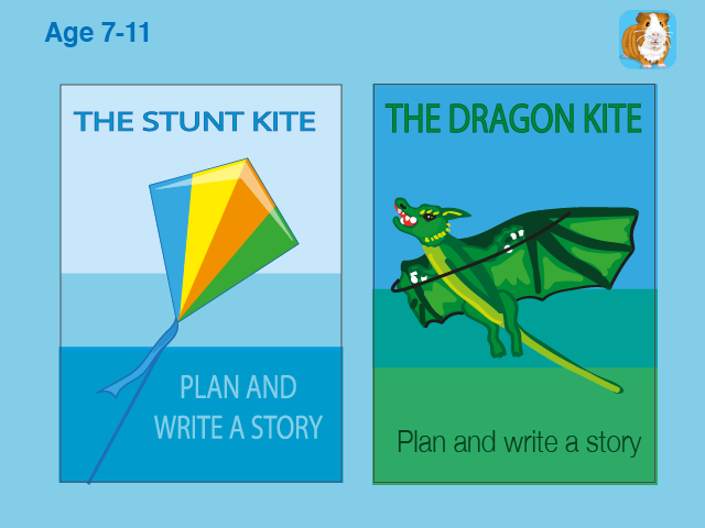Write Lots Of Stories About Being Out And About: Pack 1 (7-11 years)