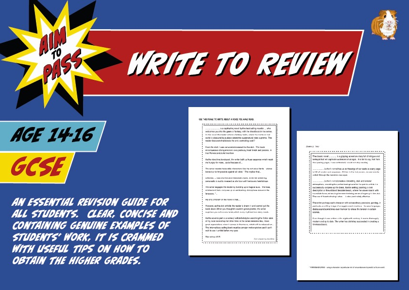 Write To Review (Improve Your Grades At GCSE) (14-16 years)
