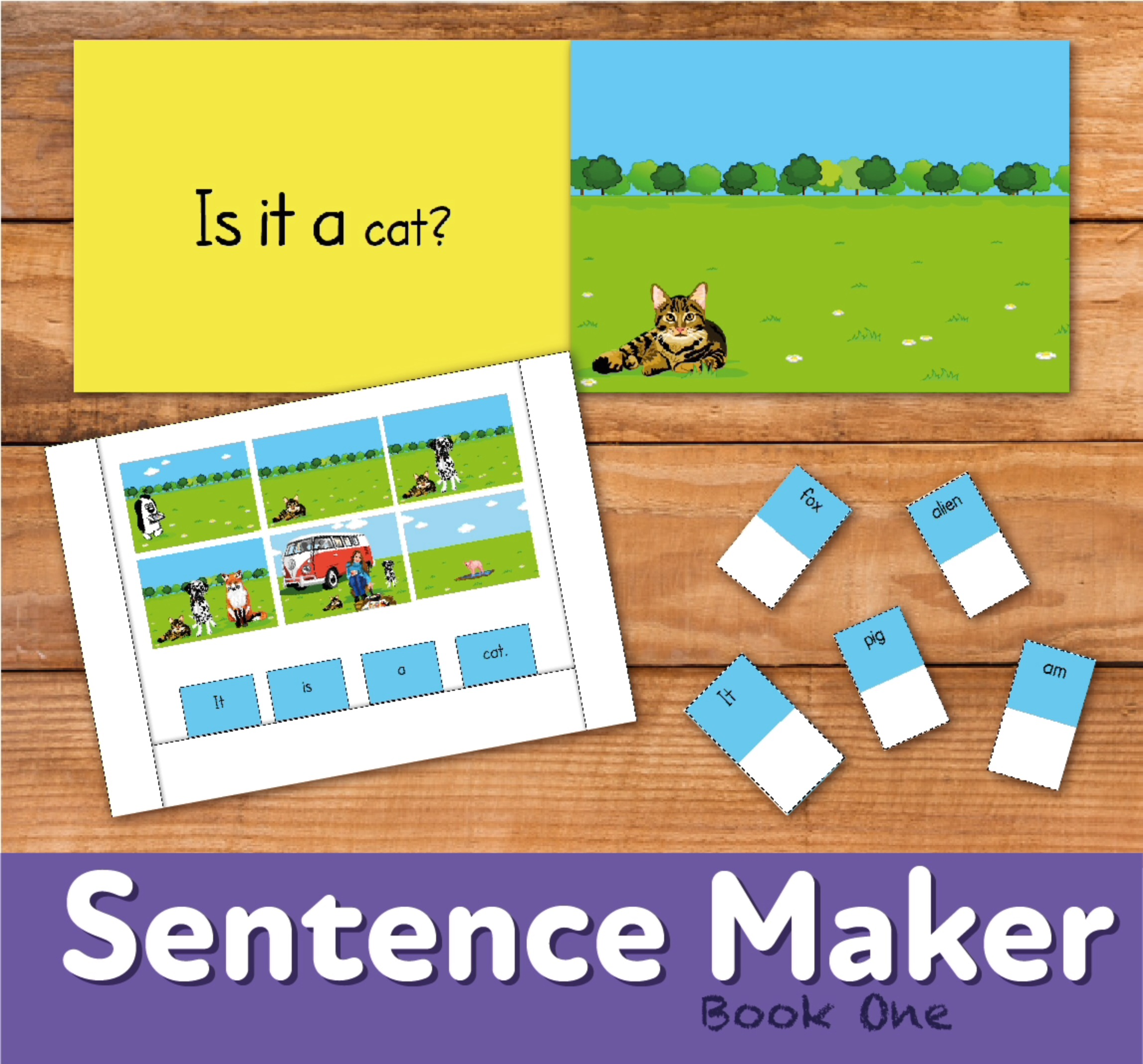 Make Sentences With The Sentence Maker: Book 1