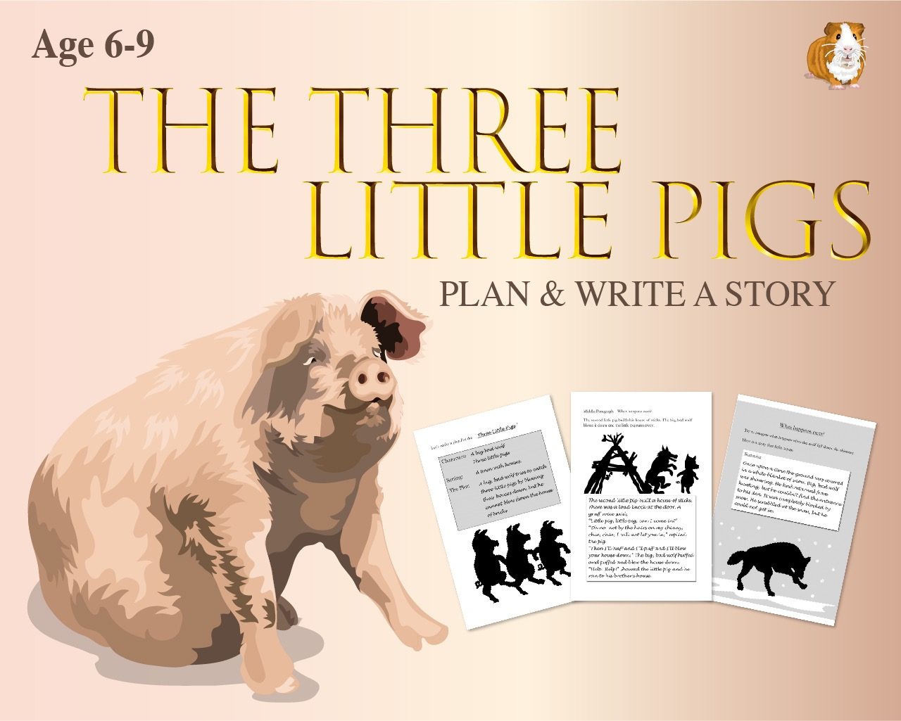Plan And Write The Story Of 'The Three Little Pigs' (6-9 years)