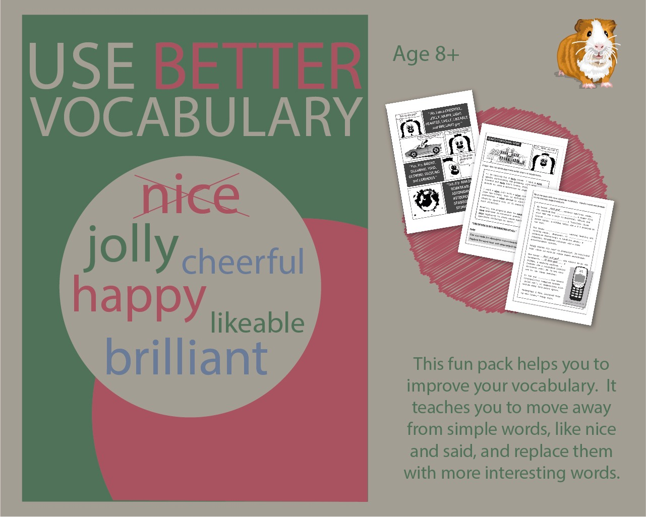 Use Better Vocabulary In Your Writing: Replace The Words Nice & Got (8+)