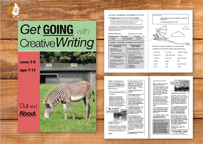 Out & About: Get Going With Creative Writing (and other forms of writing) (7-13) Print Versions