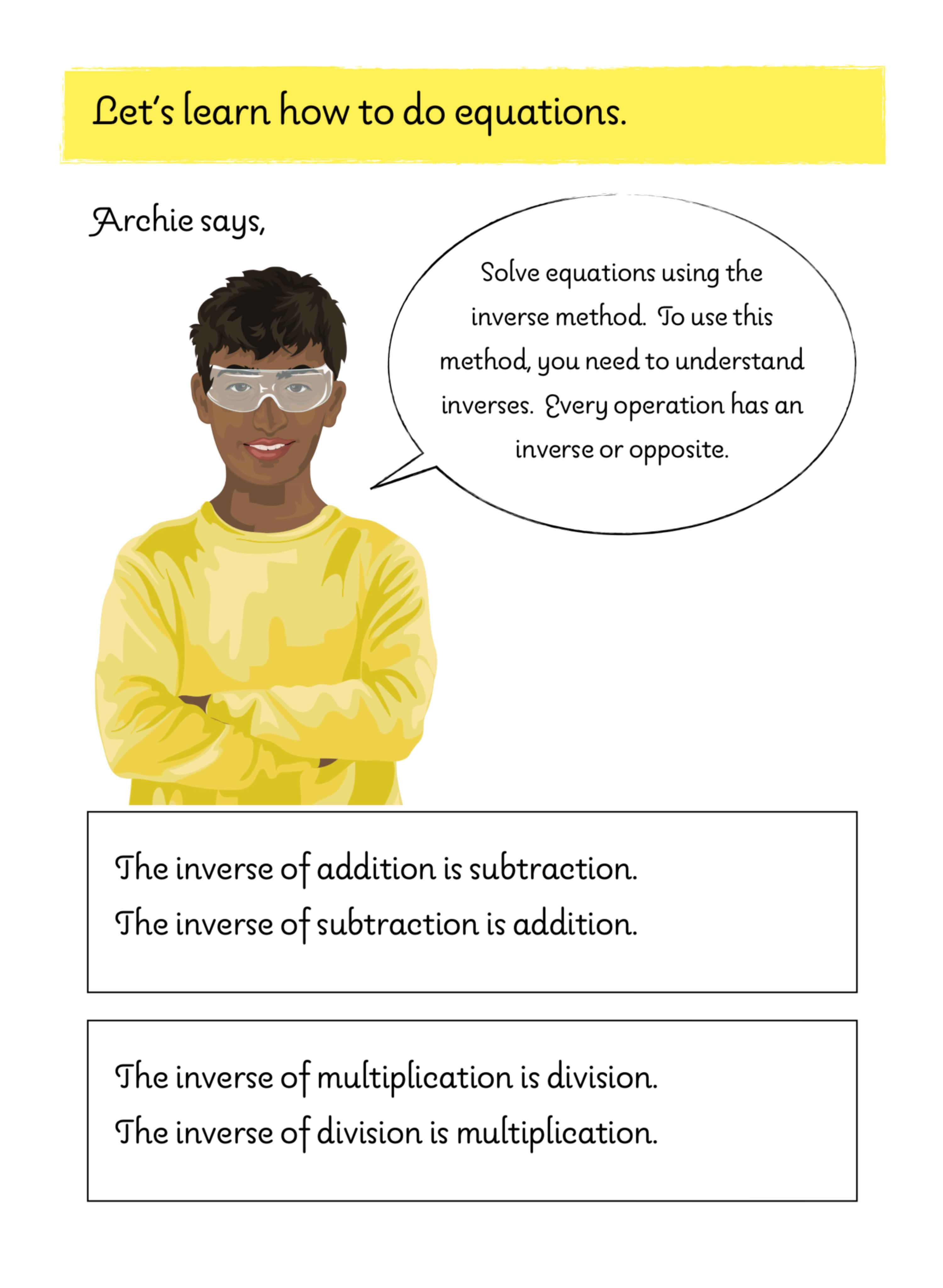 Basic Algebra Practice Questions With Answers - Age 9-12