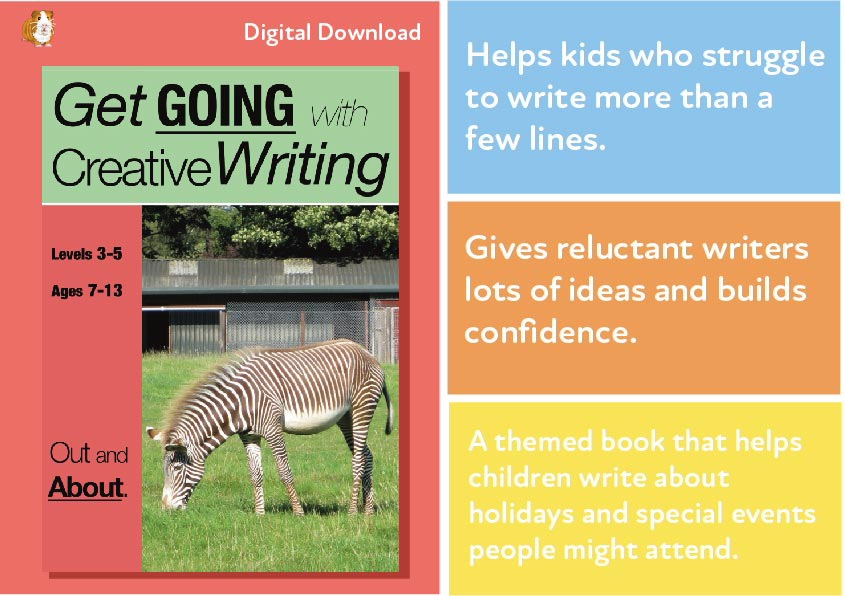Out & About: Get Going With Creative Writing (And Other Forms Of Writing) (7-13) Digital Download