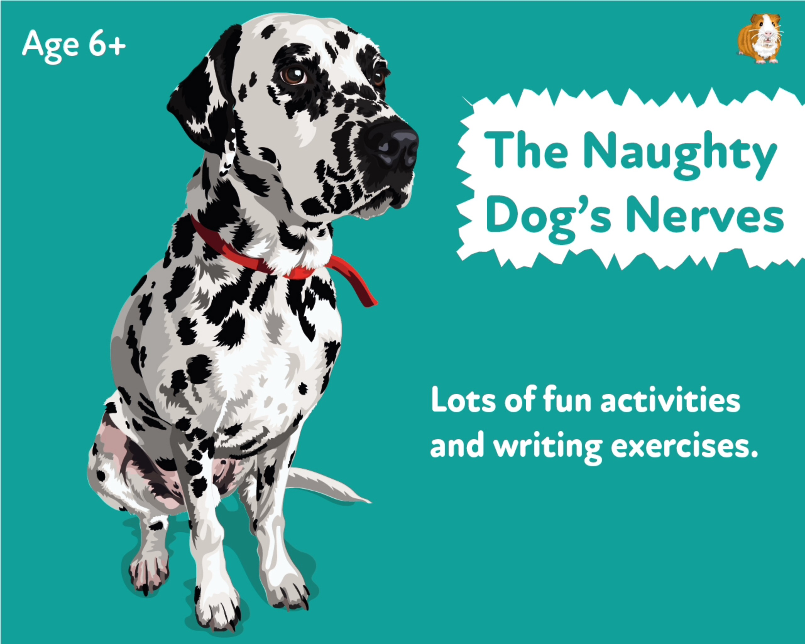 'The Naughty Dog's Nerves' A Fun Writing And Drawing Activity (6 years +)