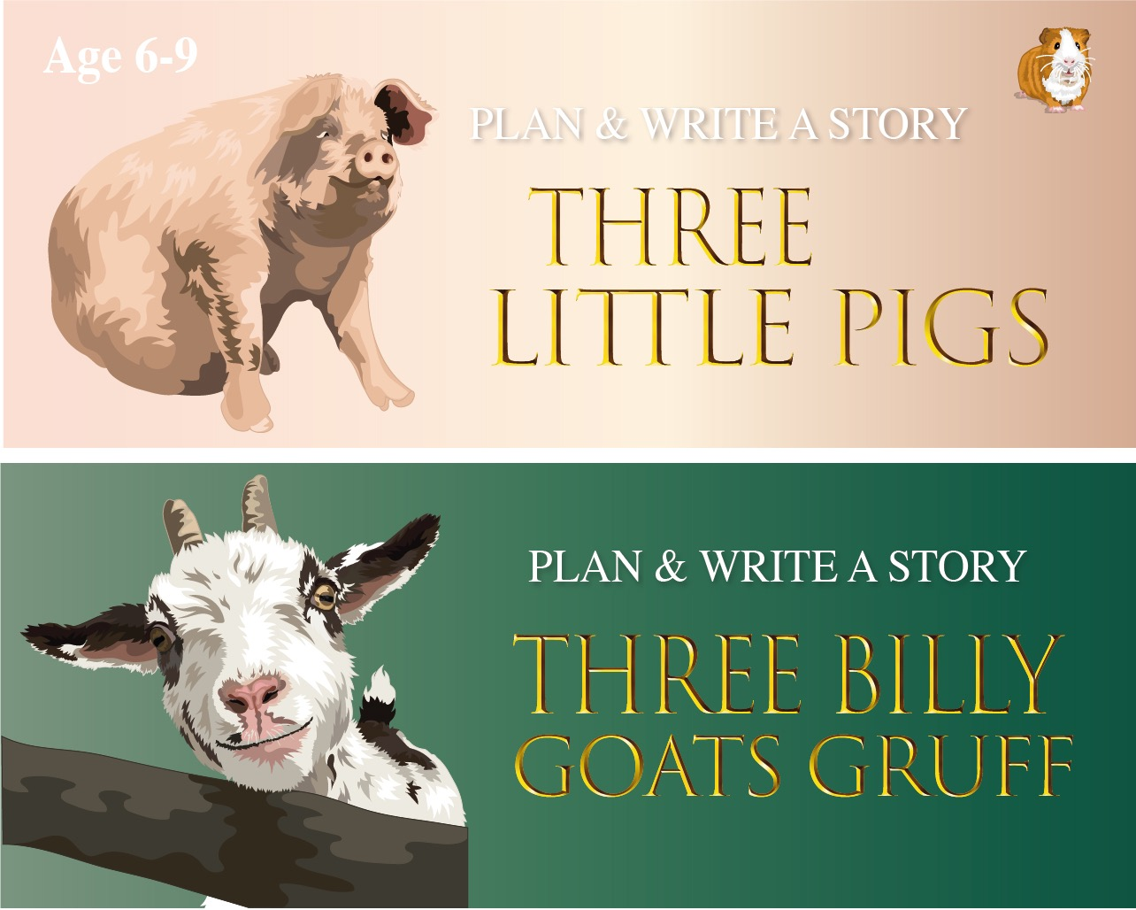Plan And Write Fairy Tales: Pack 1 (6-9 years)