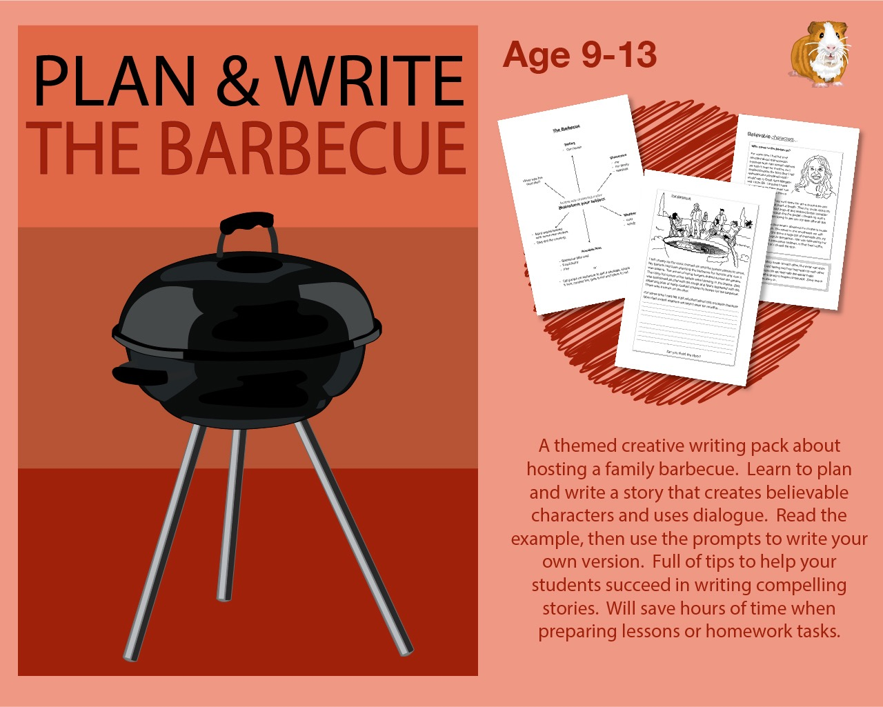 Plan And Write A Story Called 'The Barbecue' (9-12 years)