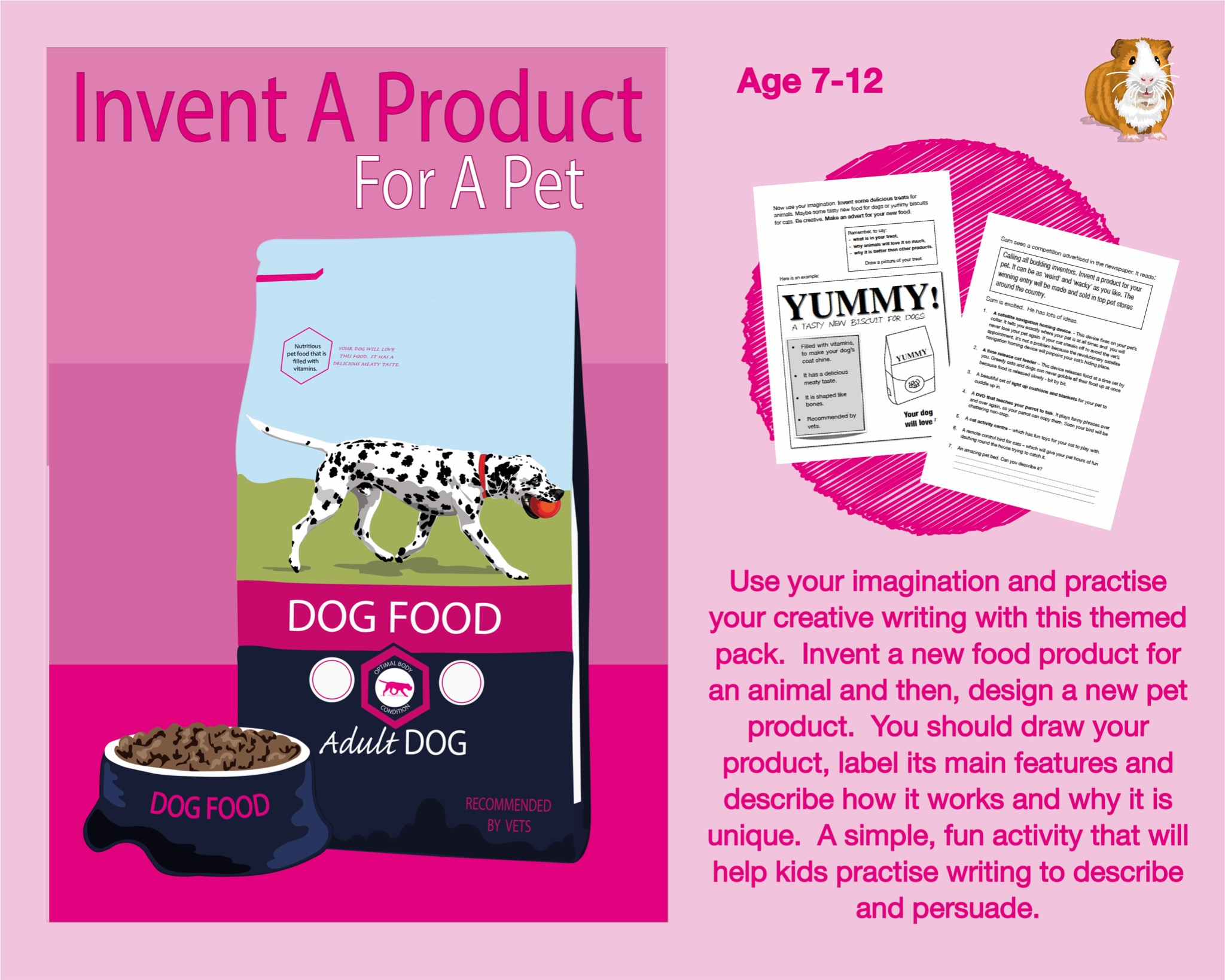 Invent A Product For A Pet (7-12 years)