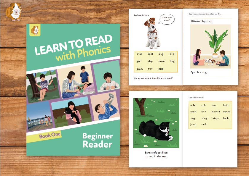 3. Learn To Read With Phonics | Beginner Reader Book 1 | Print Book