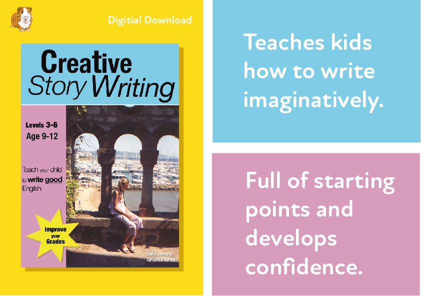 Creative Story Writing (Age 9-12 years) Digital Download