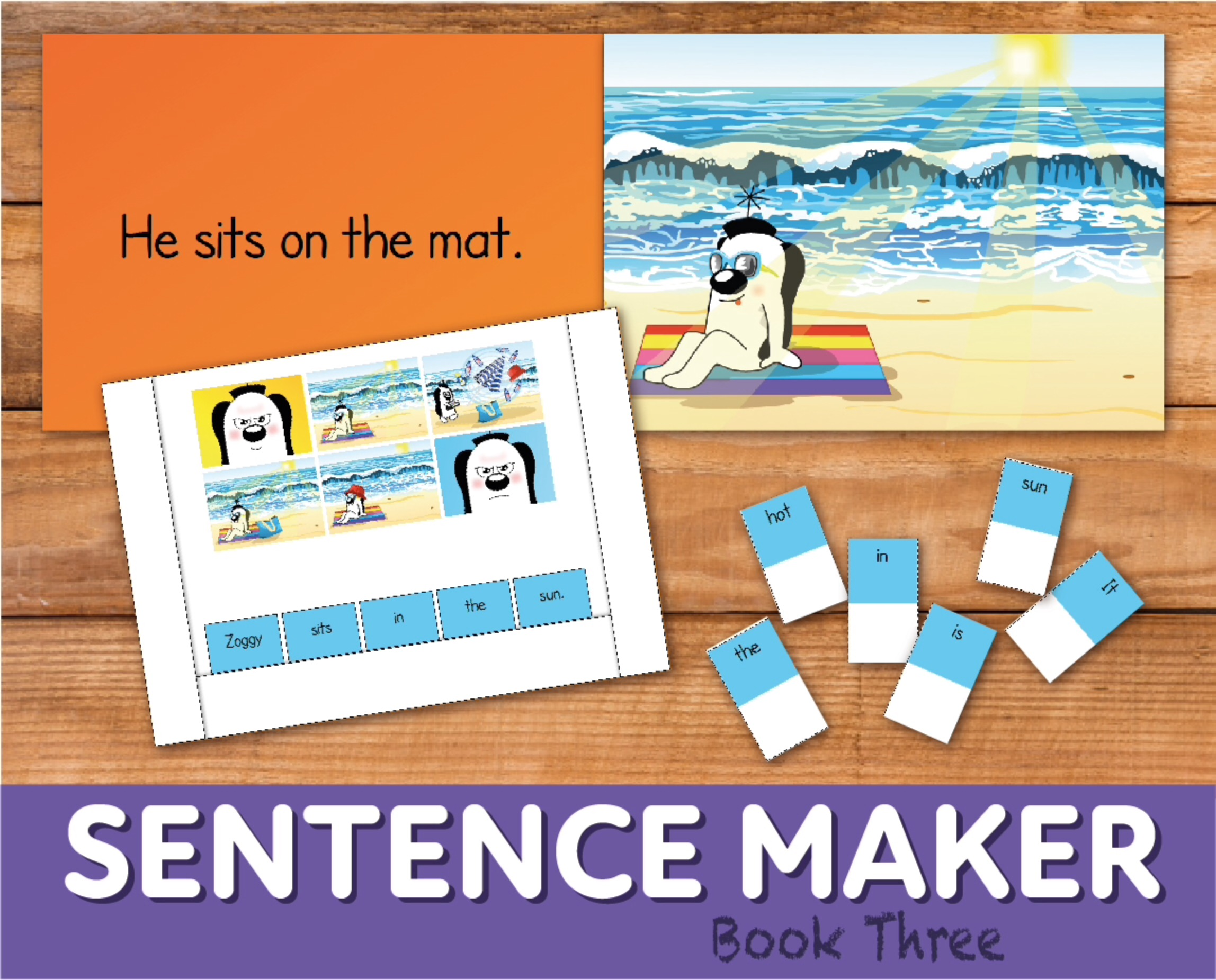 Make Sentences With The Sentence Maker: Book 3