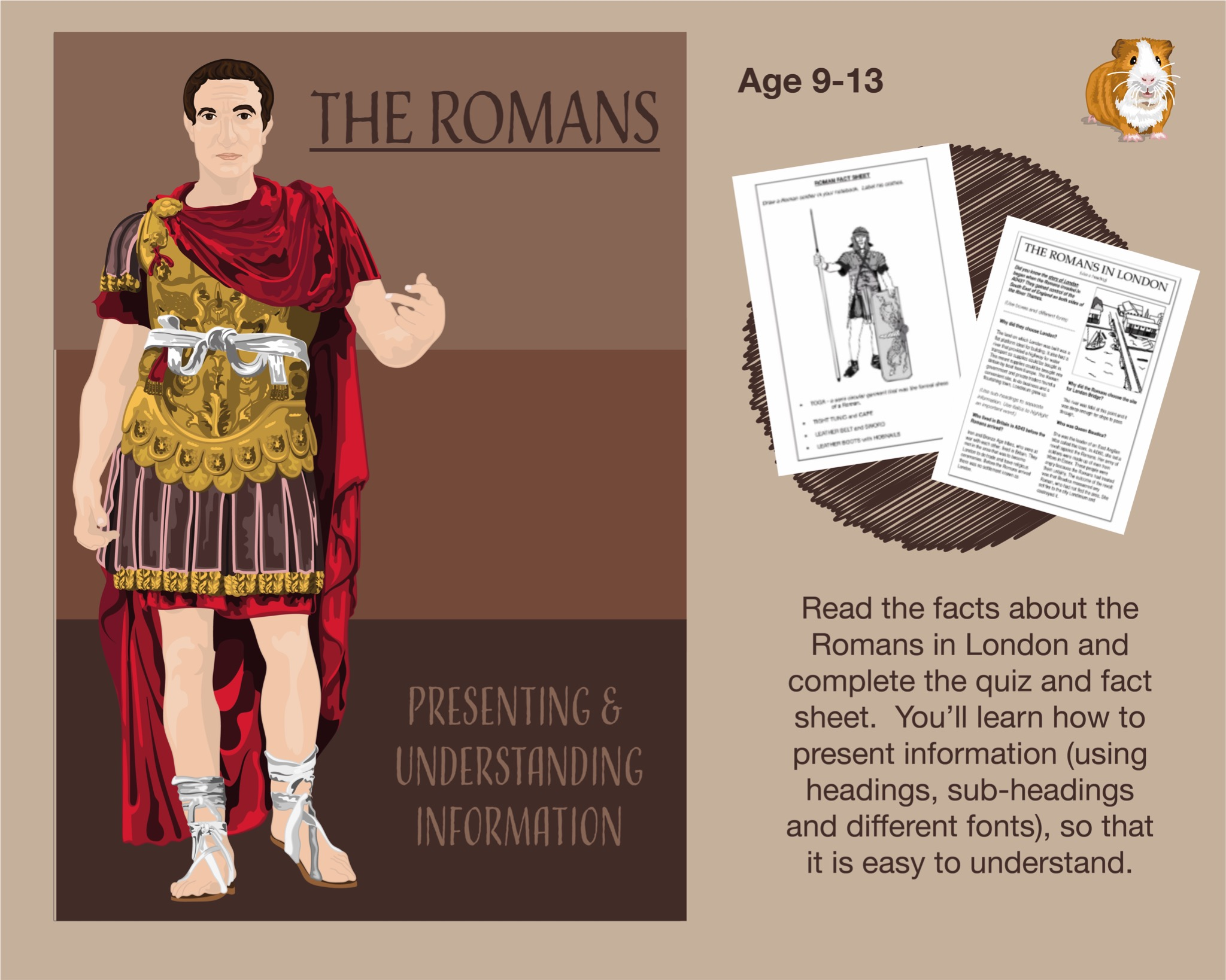 Presenting And Understanding Information: The Romans (9-14 years)