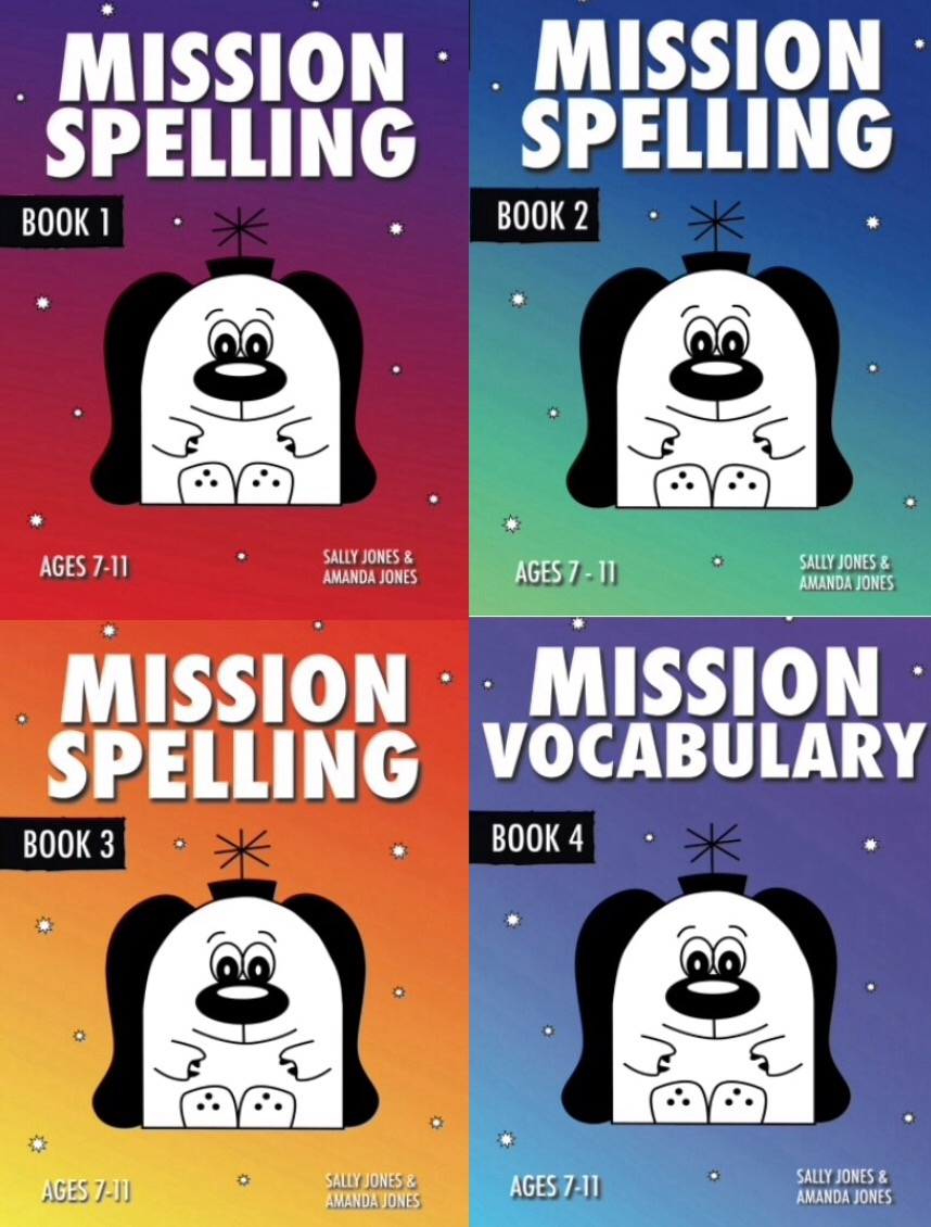 Mission Spelling Series (Complete Series books 1-4) Digital Download