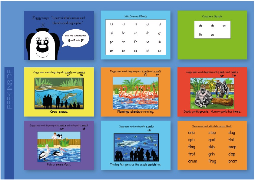Bridging Book 2 - Introduces Initial Consonant Blends (Print Edition)