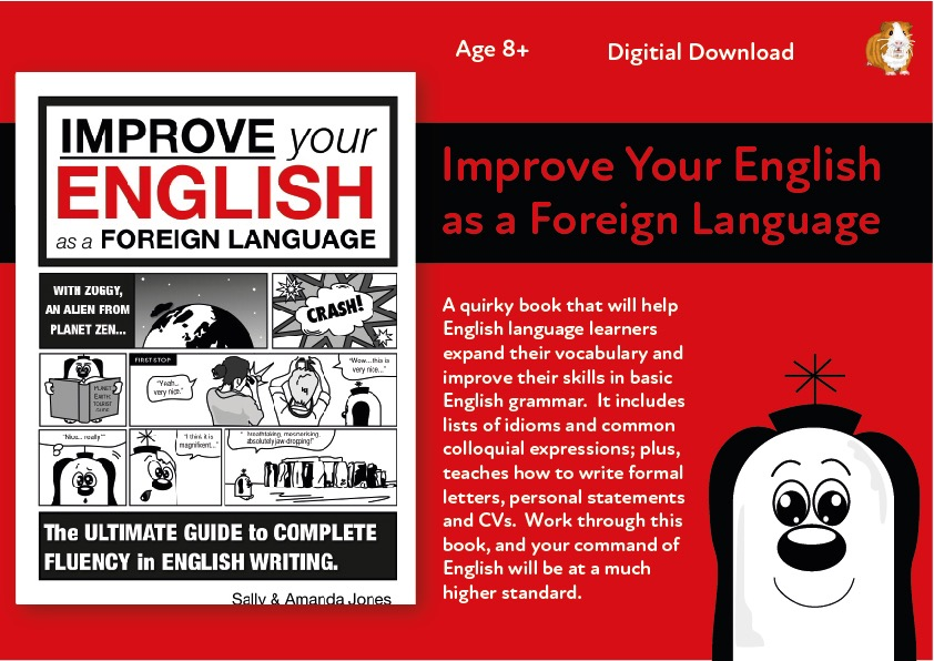 Improve Your English As A Foreign Language: The Ultimate Guide 8+ Digital Download