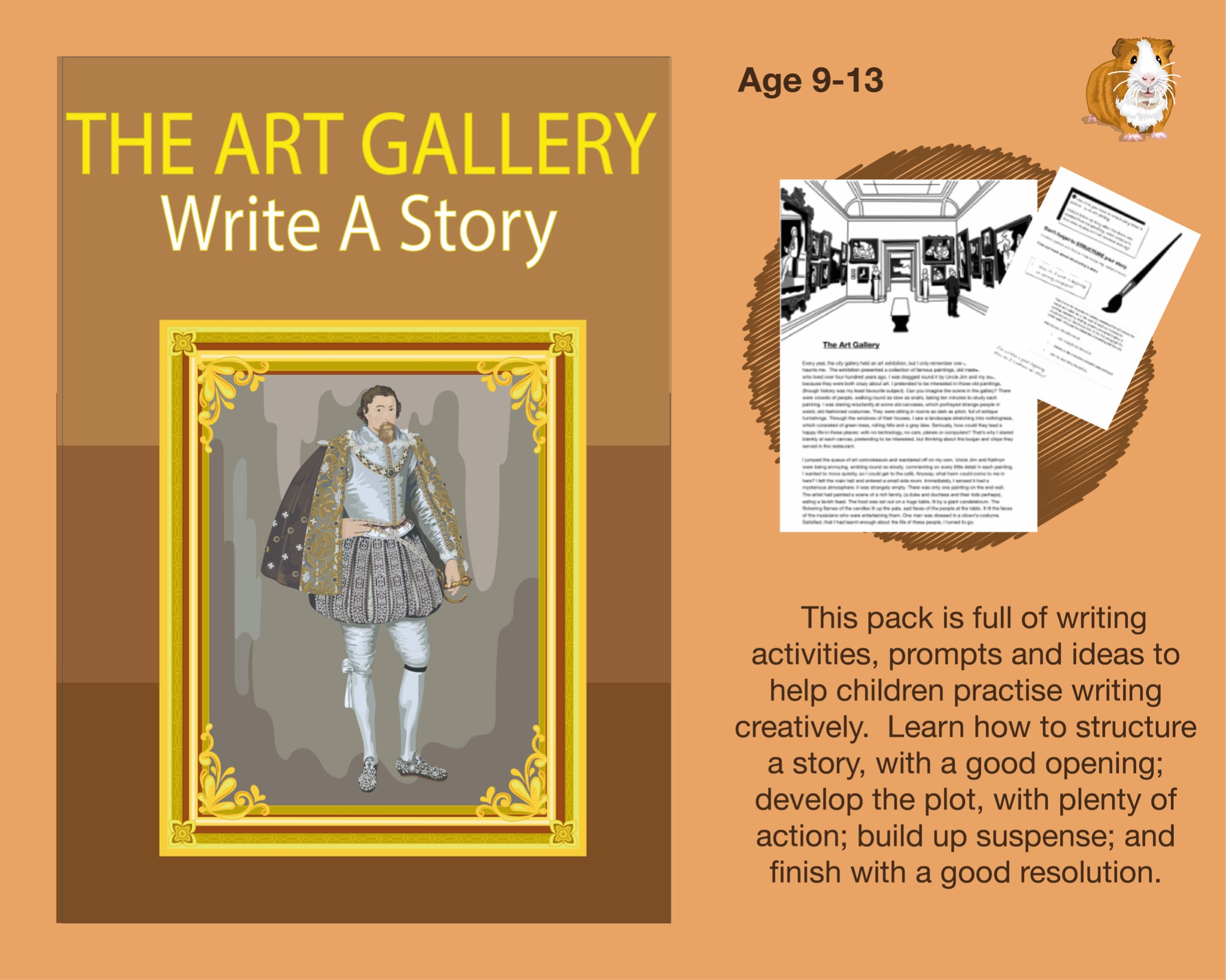 The Art Gallery: Write A Story (SATS And 11+ Essential Writing Practice) (9-13 years)