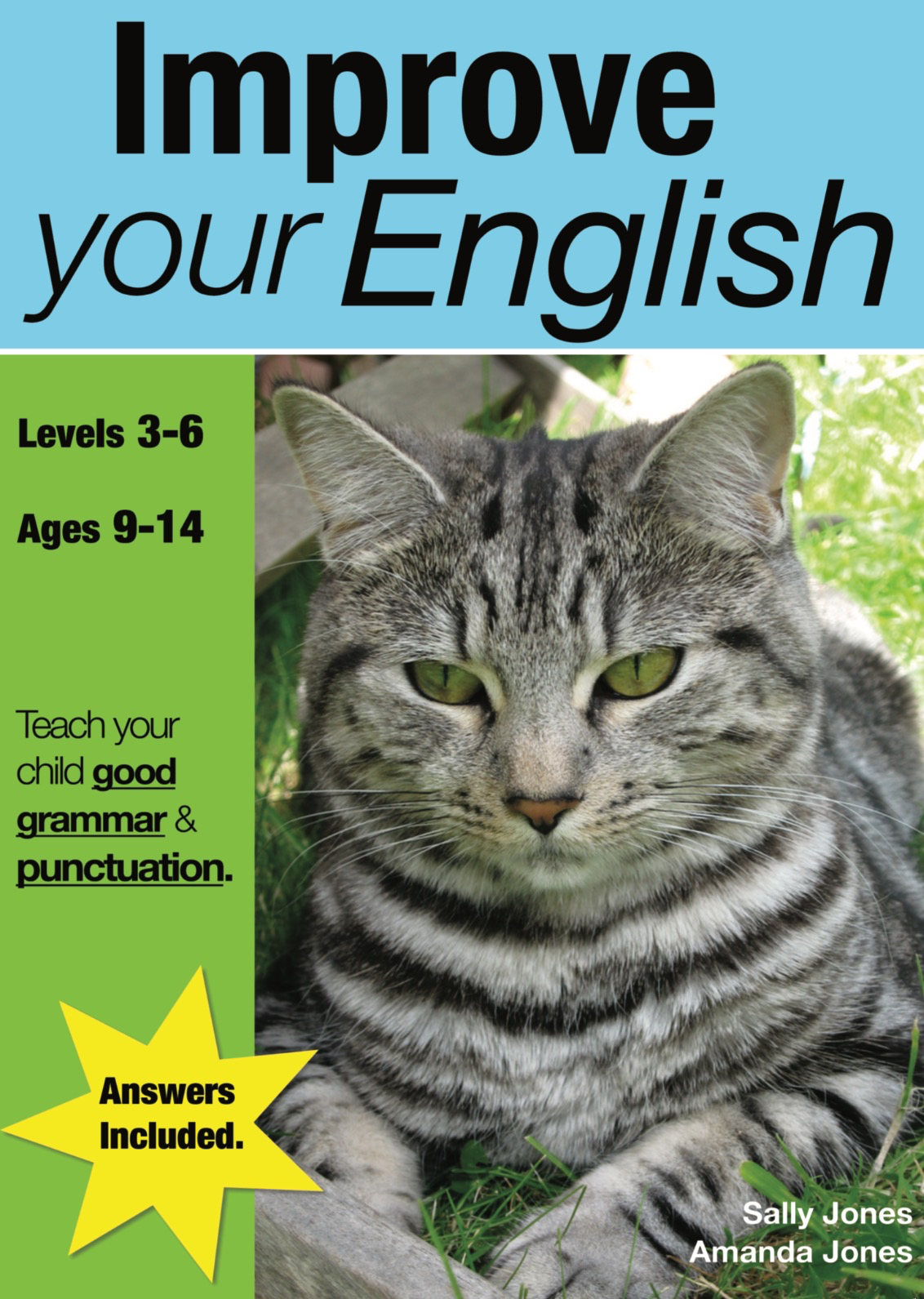 Improve Your English (Teach Your Child Good Grammar And Punctuation) 9-14 years Print Book