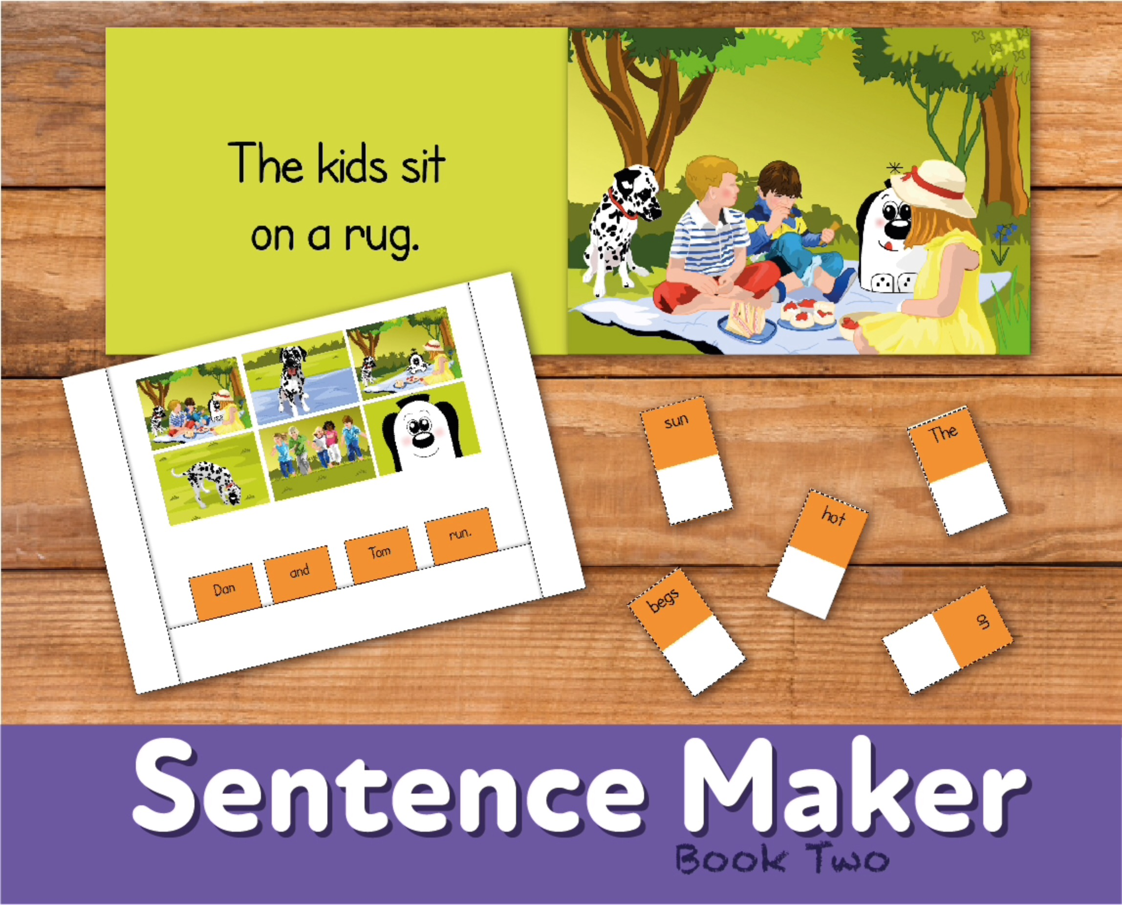 Make Sentences With The Sentence Maker: Book 2