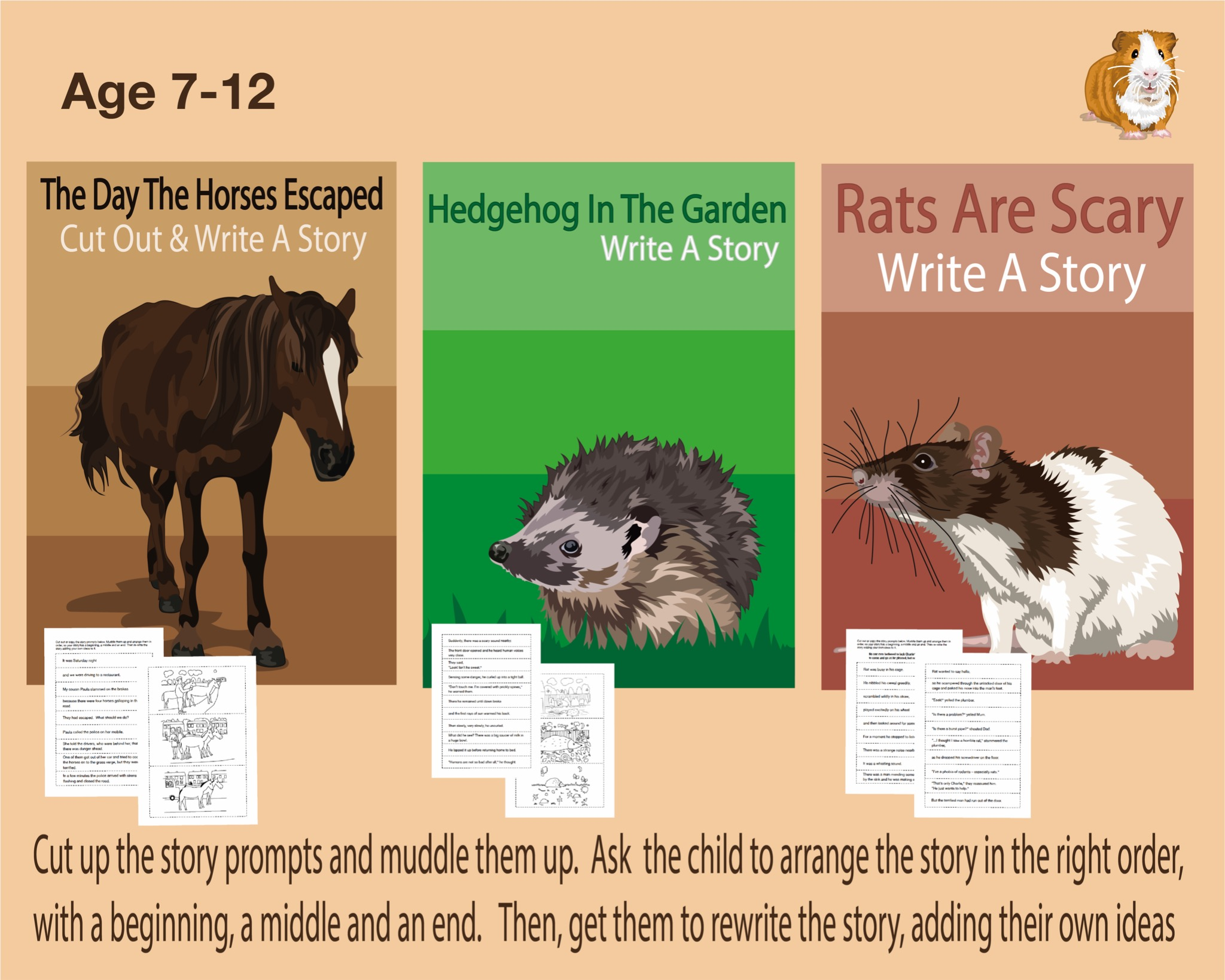 Use The Story Prompts To Write Animal Stories (7-12 years)