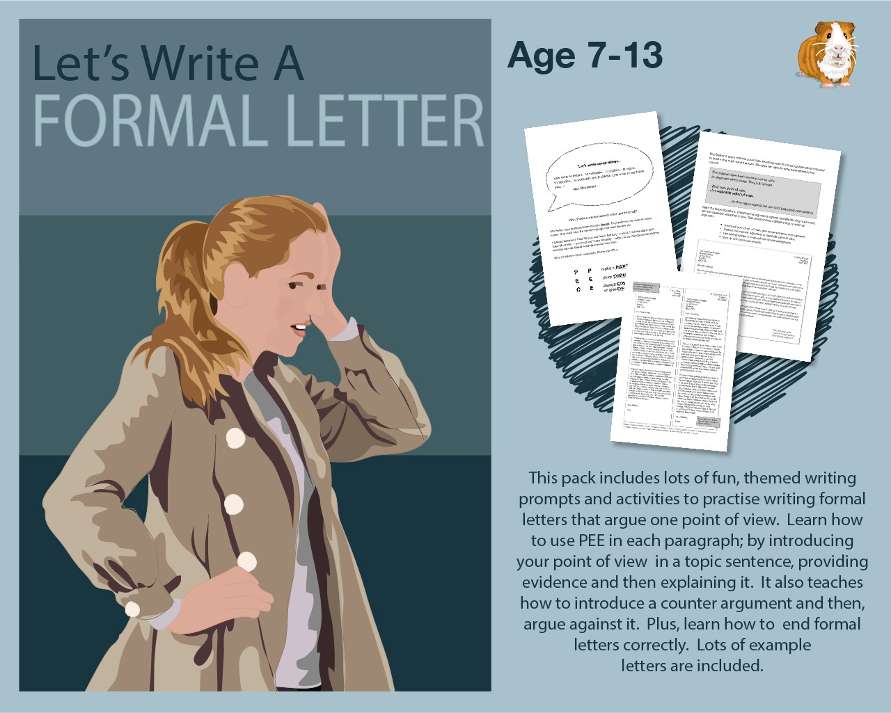 Write A Formal Letter  (7-13 years)