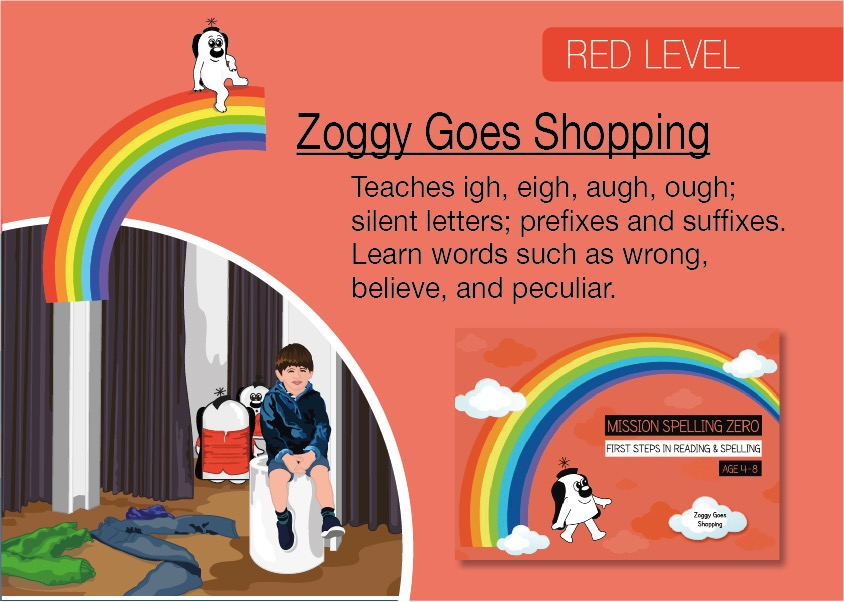 Zoggy Goes Shopping - (E-book)