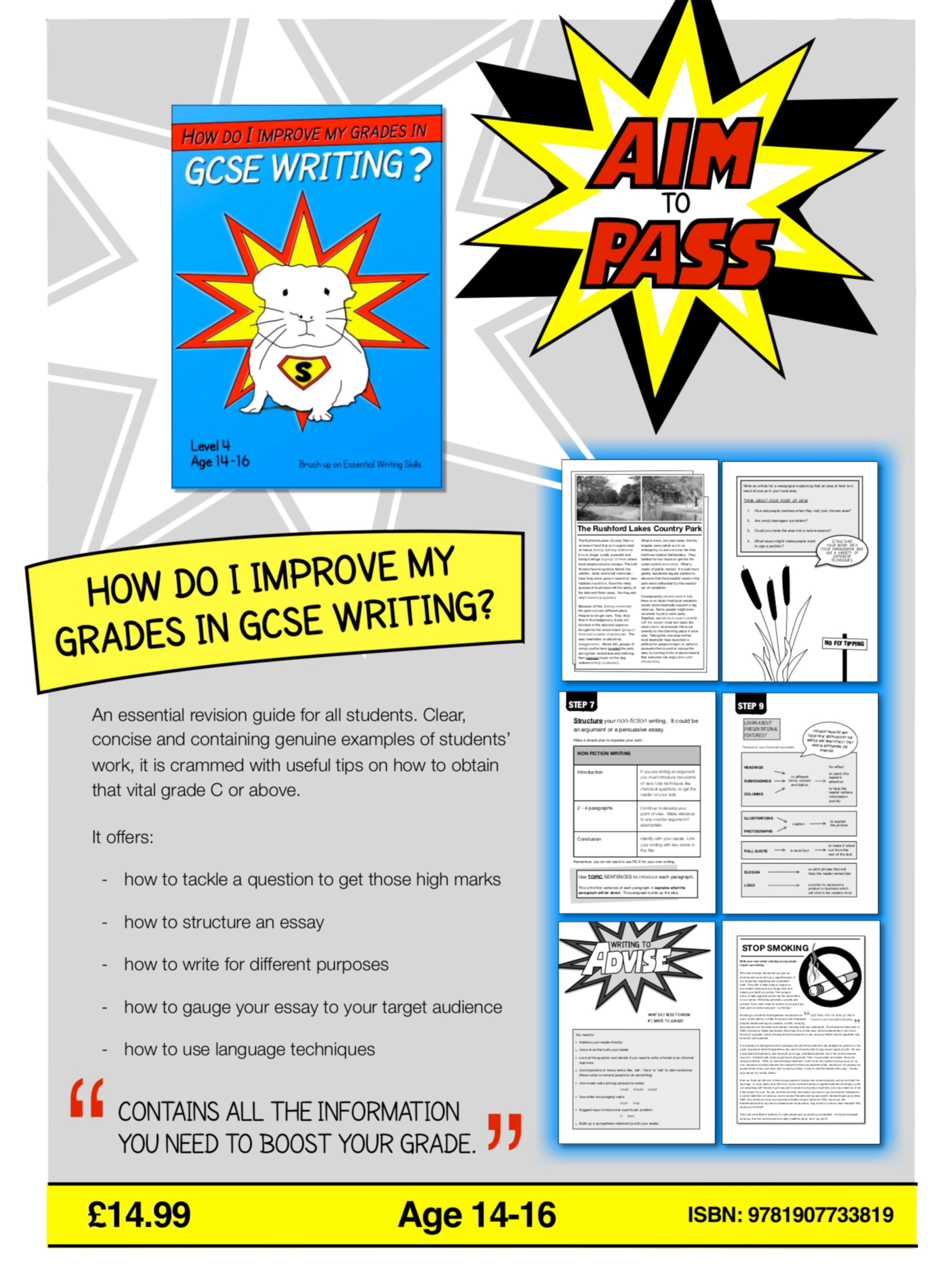 PART 1: How Do I Improve My Grades In GCSE English? (14-16 years)