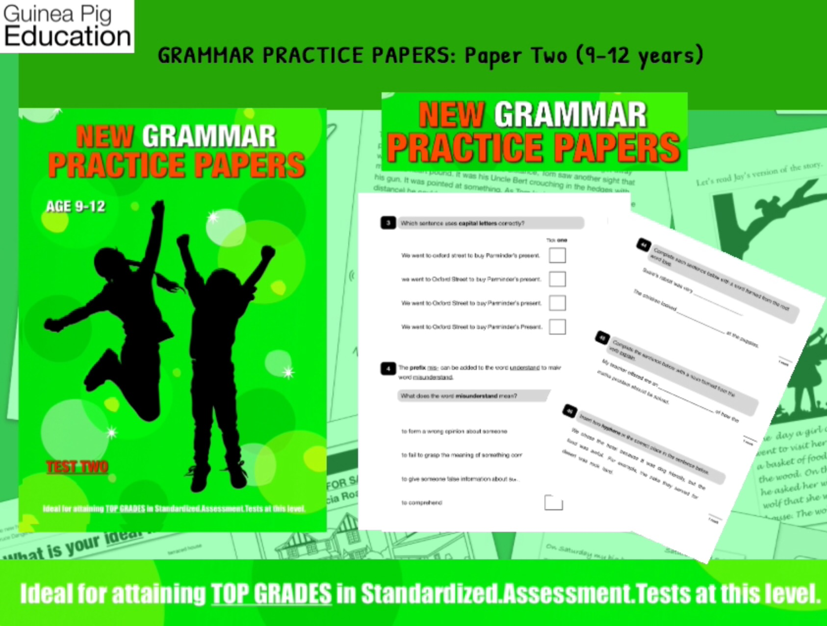 Let's Practice Grammar For SATS (Pack 2) 9-12 years