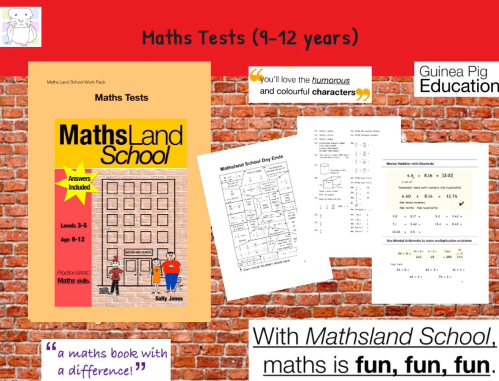 Maths Tests (9-12 years)