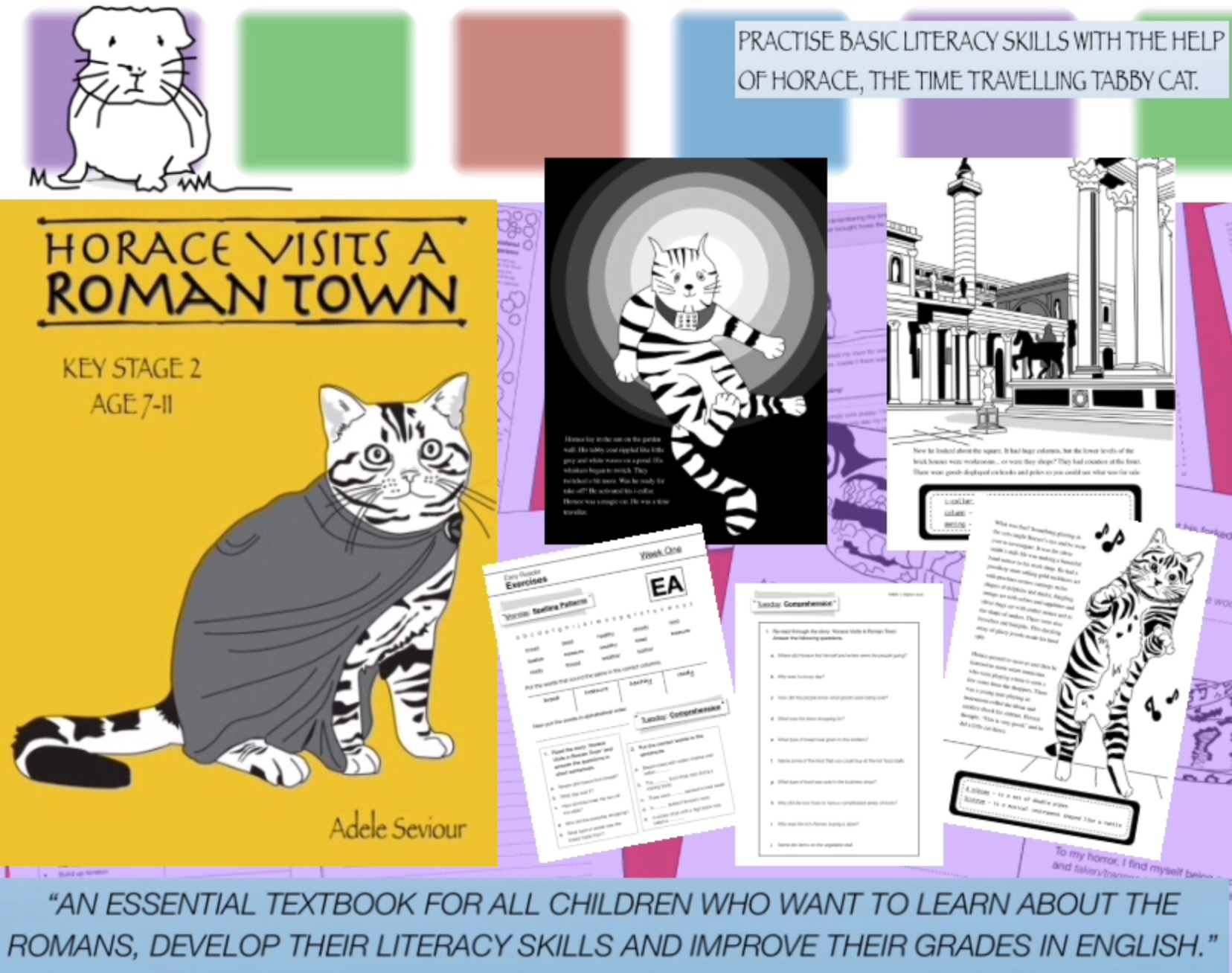 Horace Visits A Roman Town (age 7-11 years) Digital Download