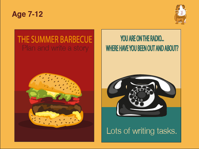 Write Lots Of Stories About Being Out And About: Pack 3 (7-11 years)