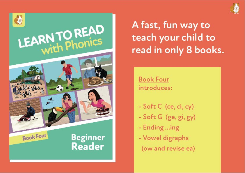 6. Learn To Read With Phonics | Beginner Reader Book 4 | Digital Download
