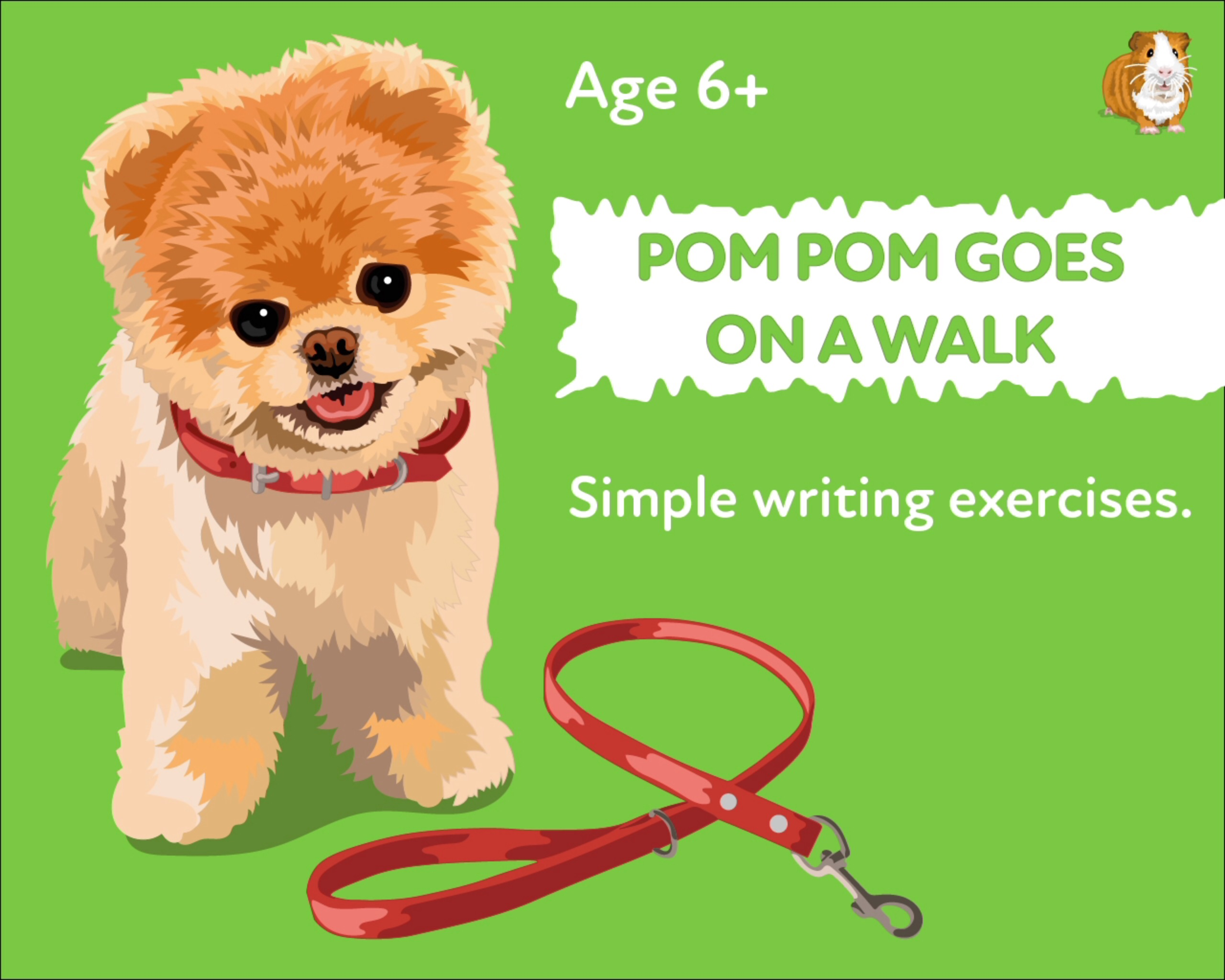 'Pom Pom Goes On A Walk' A Fun Writing And Drawing Activity (6 years +)