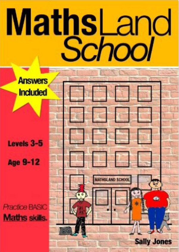 Maths Land High School: Practise Basic Maths Skills (9-12 years) Print Version