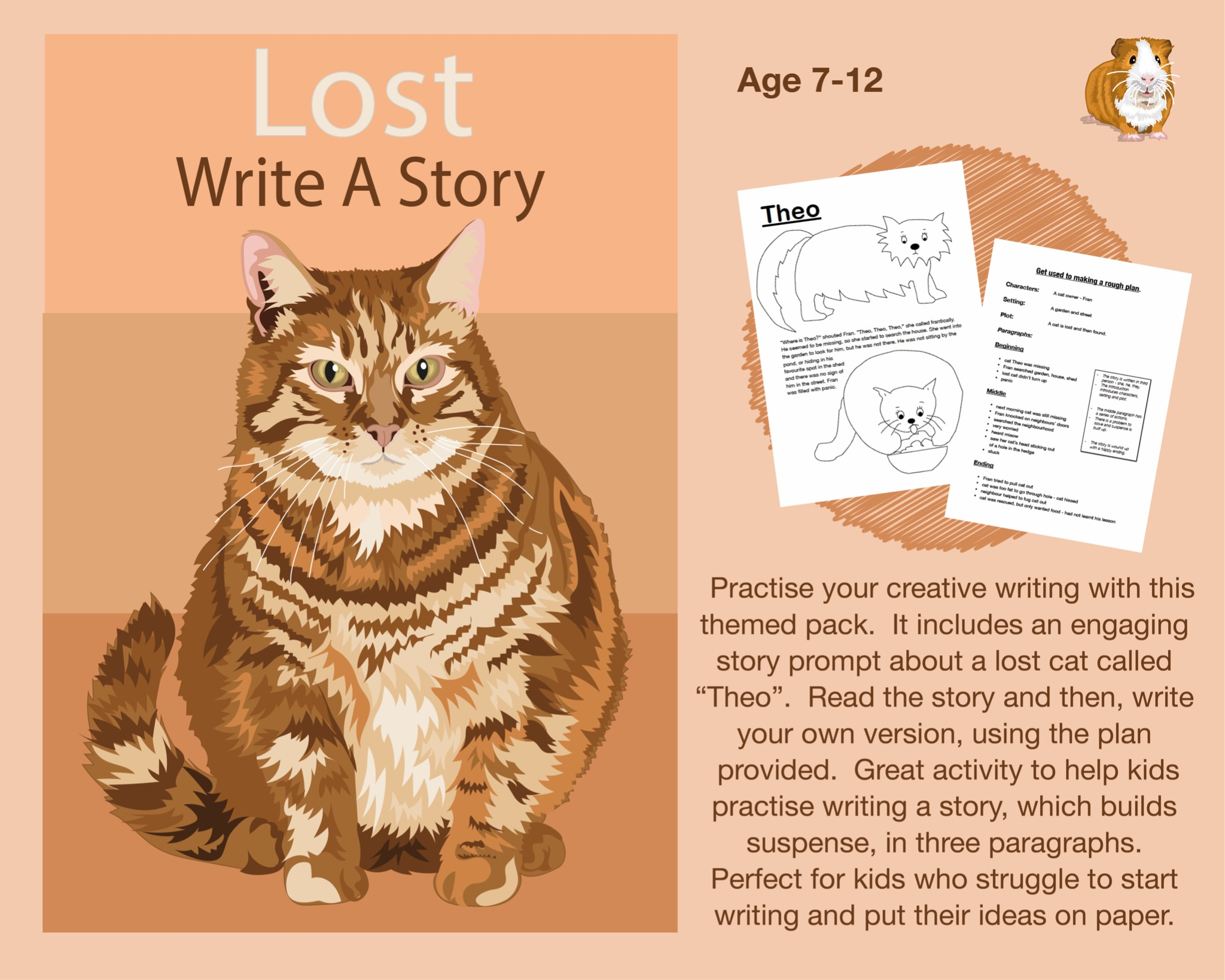 Write A Story Called 'Lost' (7-12 years)
