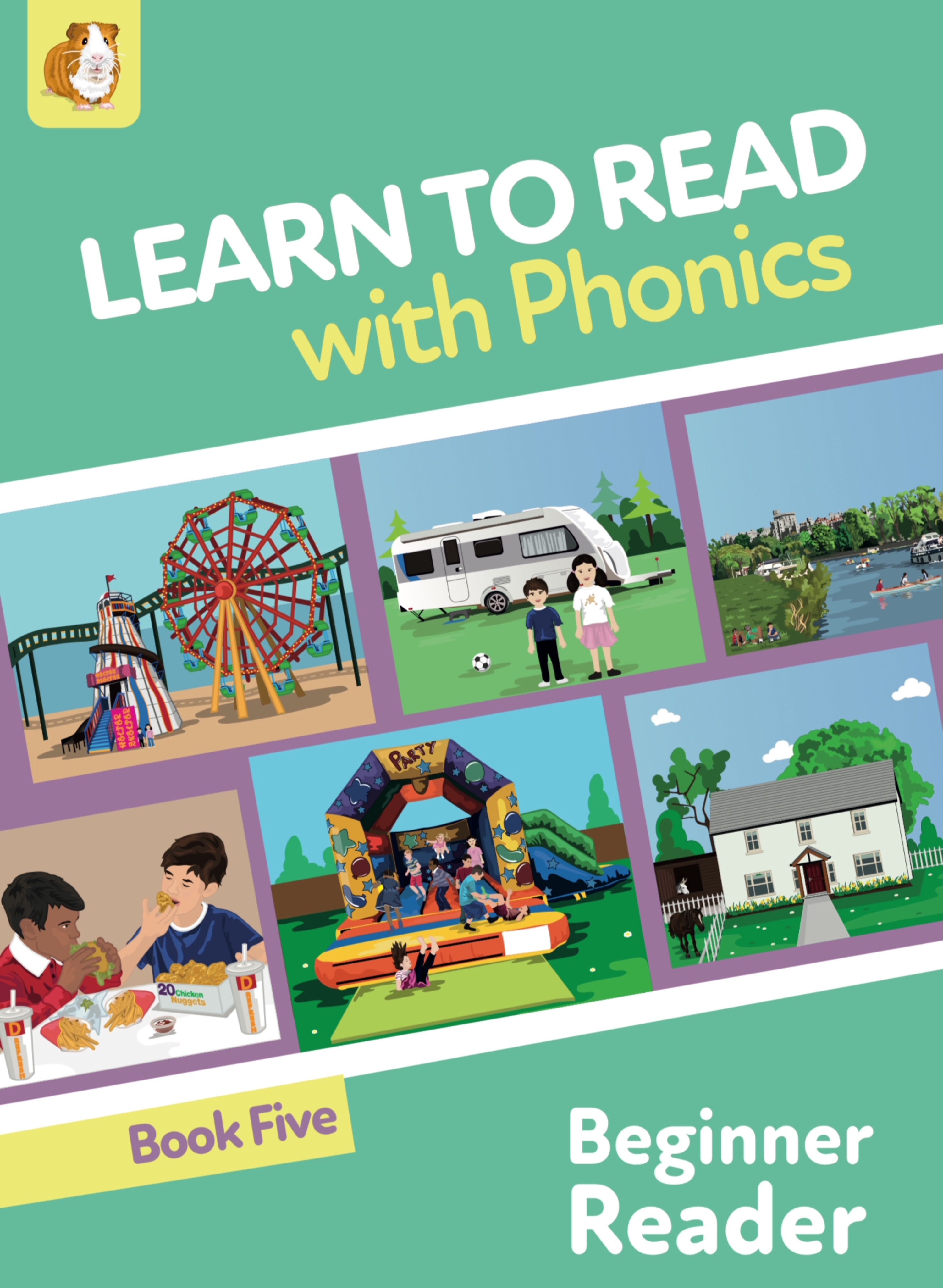 Learn To Read Rapidly With Phonics: Beginner Reader Book 5: Digital Download