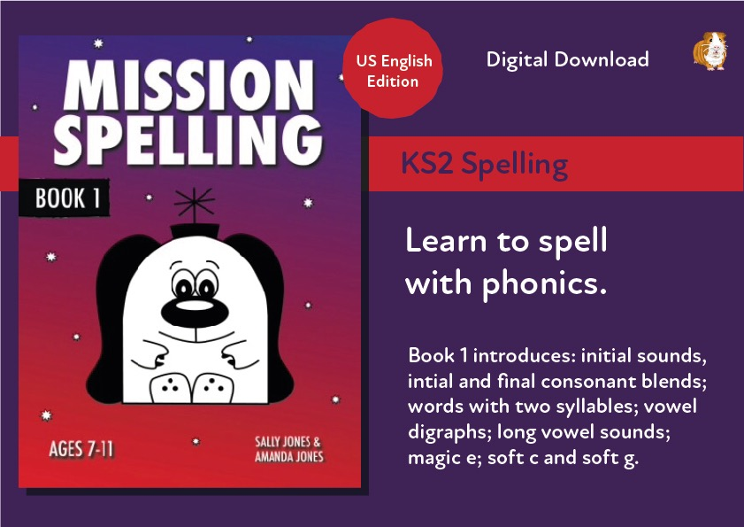 Mission Spelling Book 1 (US English Edition) Grades 2-5