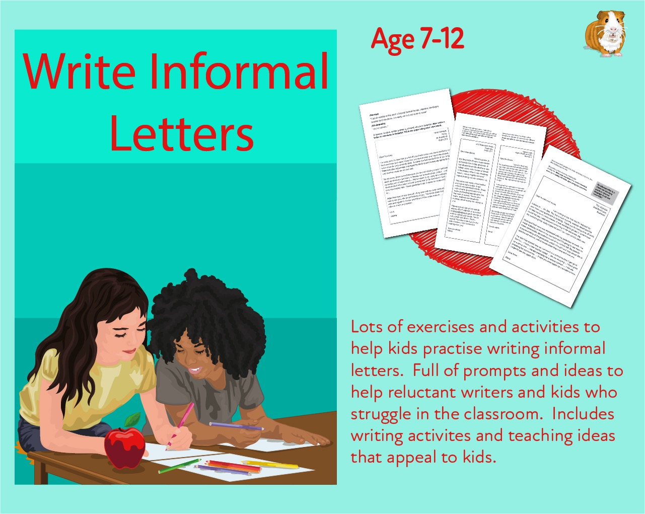 Lets Write An Informal Letter  (7-13 years)