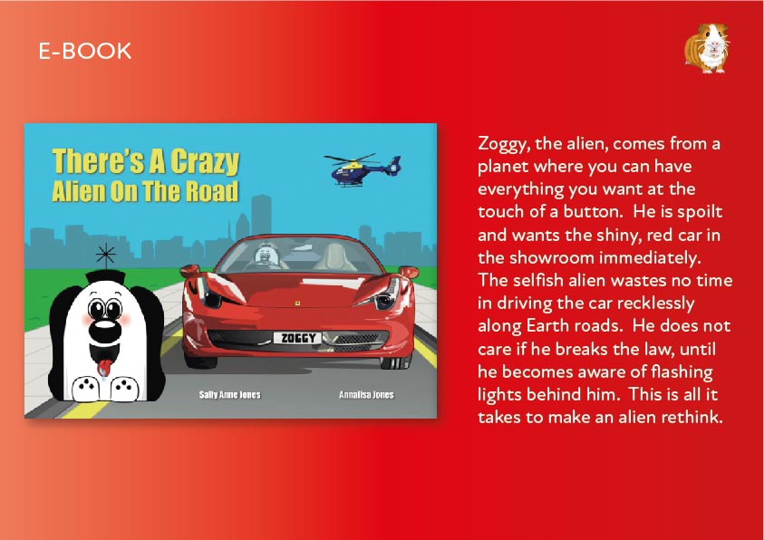 There's A Crazy Alien On The Road E-Book